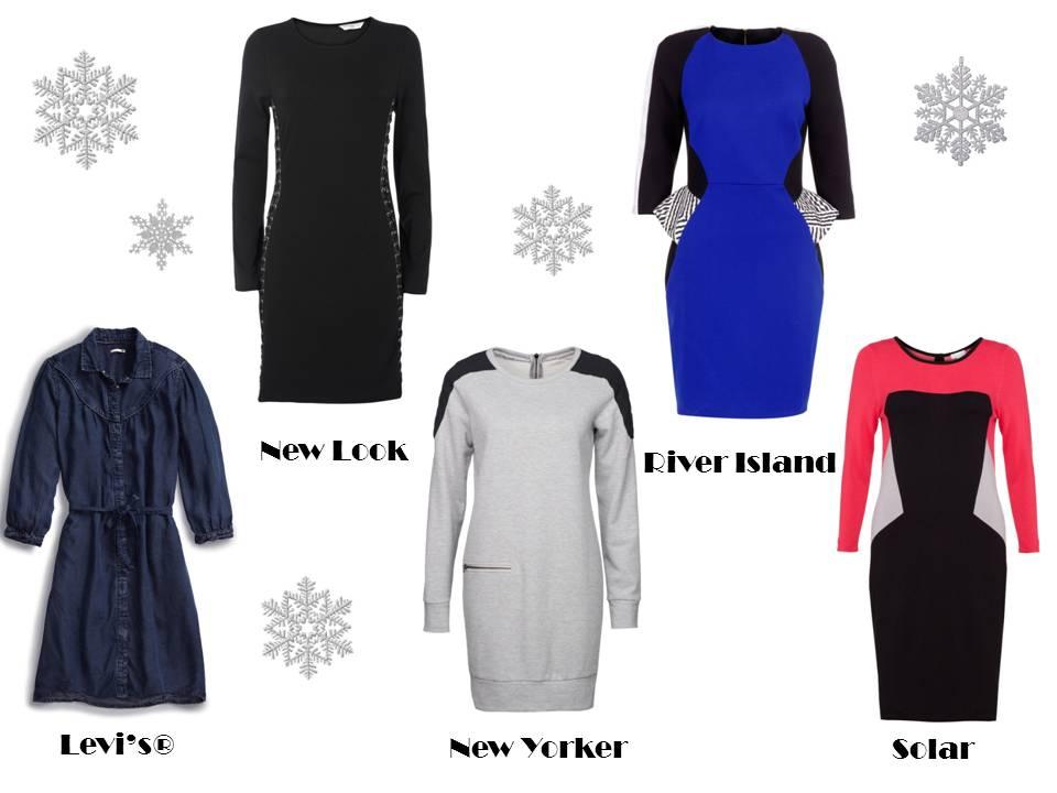 Sukienki i tuniki na zimę, bronią się one bez względu na sezonowe trendy i porę roku