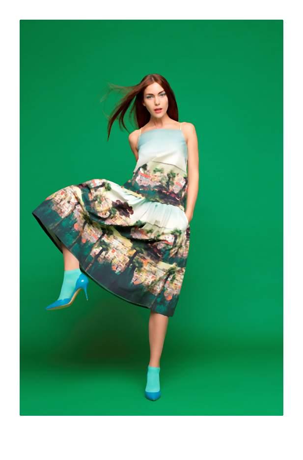 Wiosenna moda to energetyczne barwy, nowoczesne fasony, niestandardowe zestawienia