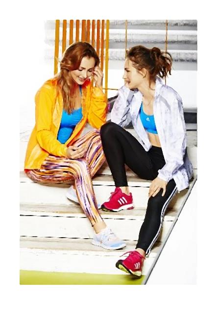Kolekcja adidas Women wiosna/lato 2014 aby dziewczyny czuły się bardziej kobieco